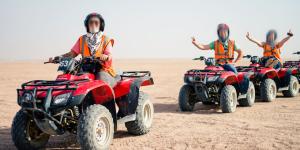 1 Desert Safari Trip By Quad Bike