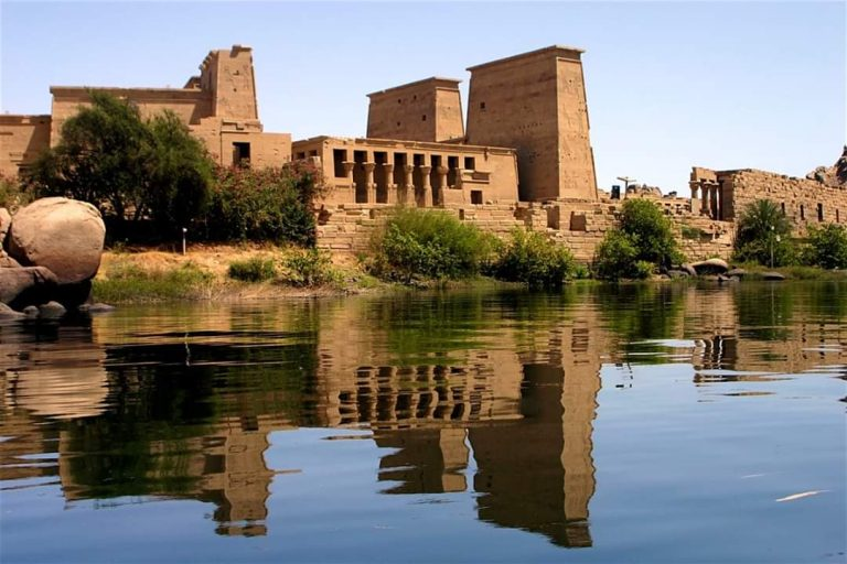 Philae Temple Relocation Process