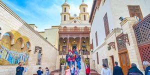 Hanging Church Coptic Cairo