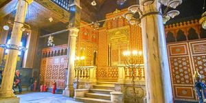 Benezra Synagogue Coptic Cairo
