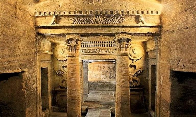 The Catacombs of Kom El Shuqqafa