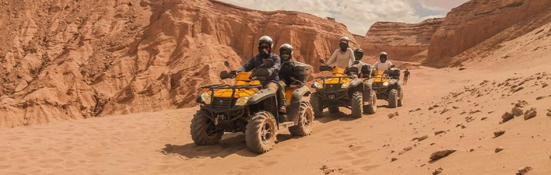 Awesome 1-day Safari by Quads from Safaga Port
